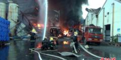 Пять человек погибли от взрыва на химическом заводе в Китае