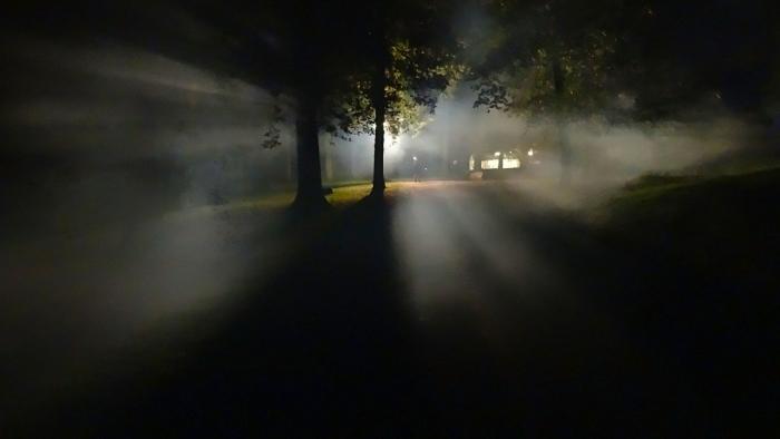 Таинственные фары, снятые охотничьей камерой, это НЛО?