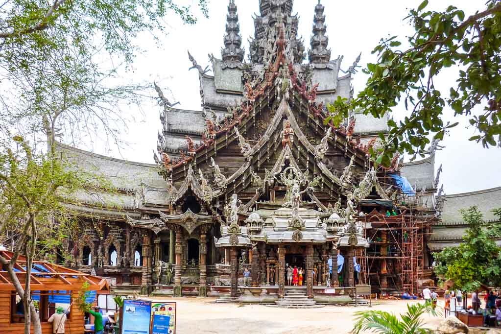 Храм Истины. Таиланд. Фото: Нина Жульмина