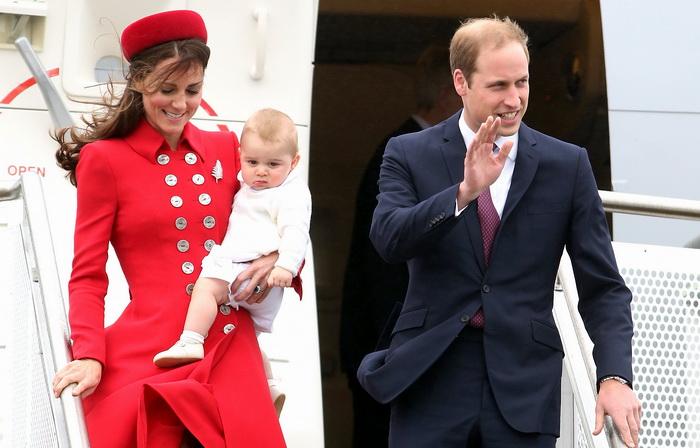 Британский принц Уильям с супругой и 8-месячным сыном, принцем Джорджем совершает Королевское турне по странам Новой Зеландии и Австралии. Фото: Chris Jackson/Getty Images