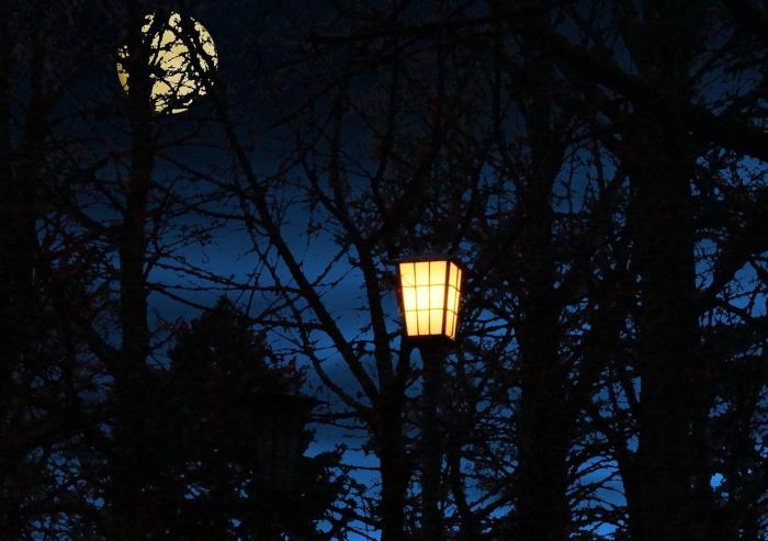 Странный феномен: люди выключают уличные фонари, проходя мимо них