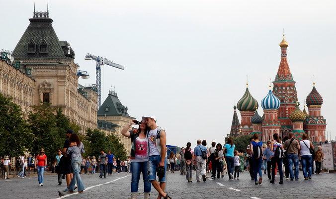В майские праздники Москву посетят 140 тысяч туристов