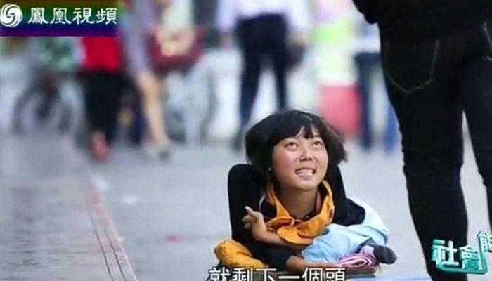 В Китае зверски калечат детей для попрошайничества