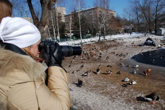 В московском зоопарке. Фото: Великая Эпоха (The Epoch Times)