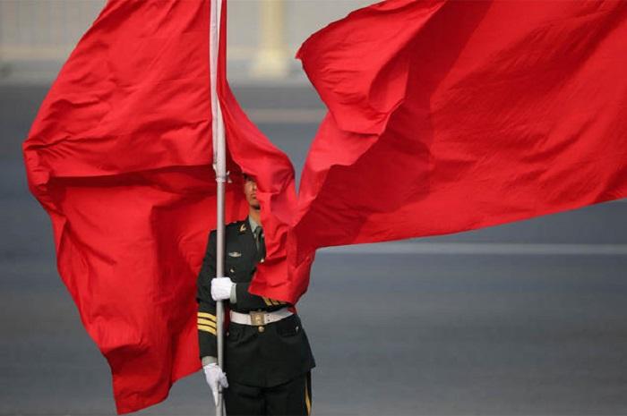 Празднование 65-й годовщины ВМФ Китая было отменено якобы из-за пропавшего самолёта MH370. Фото: Feng Li/Getty Images