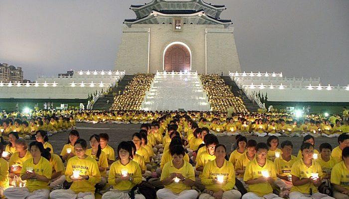 В двух китайских провинциях арестовали десятки сторонников Фалуньгун