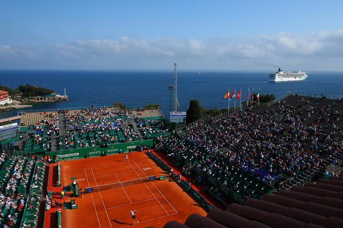 Теннисный турнир в Монте-Карло 14 апреля 2014 года. Фото: Julian Finney/Getty Images