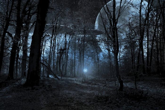 НЛО на озере Эри: наблюдения