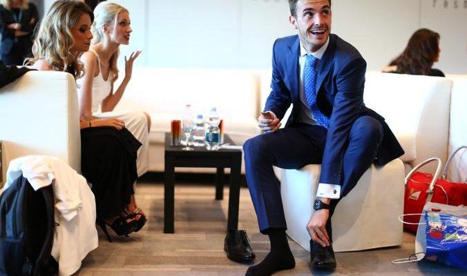 Гонщики «Формулы-1» приняли участие в модном шоу в Монако