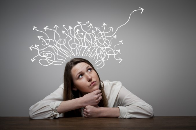 Где существуют наши мысли? Фото: Thinkstock