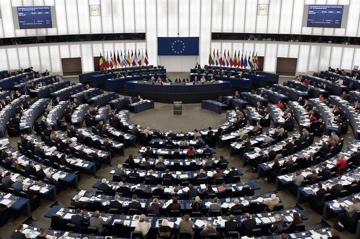 Заседание Европарламента. Фото: FREDERICK FLORIN/AFP/Getty Images