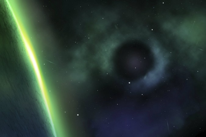 Концептуальная иллюстрация тёмной материи, невидимой материи, о существовании которой учёные знают благодаря её влиянию на другие субстанции. Фото: Shutterstock*