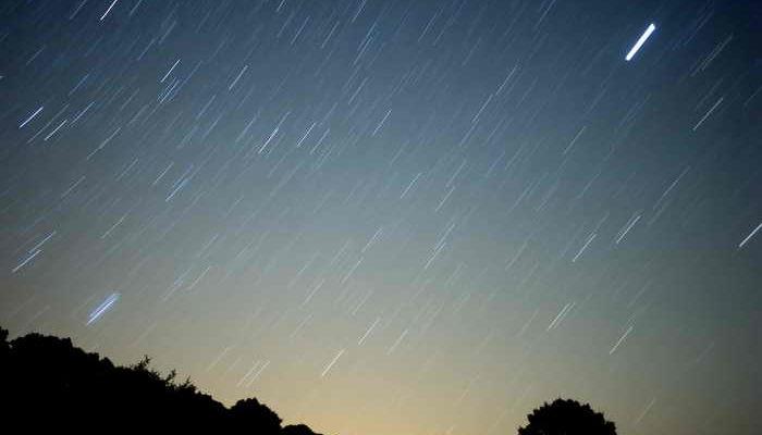 Над Москвой пройдёт метеоритный дождь