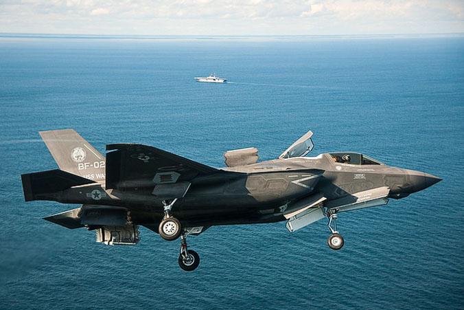 Американский истрабитель F-35B Lightning II. Фото: Lockheed Martin/Getty Images