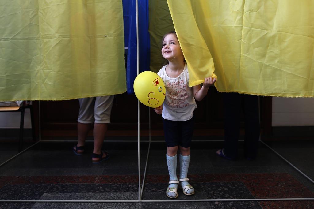 Выборы президента Украины. Киев, 25 мая, 2014 год. Фото: Dan Kitwood/Getty Images
