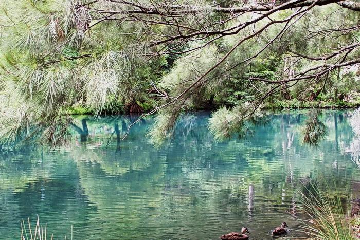 Горное озеро. Фото: Екатерина Кравцова/Великая Эпоха