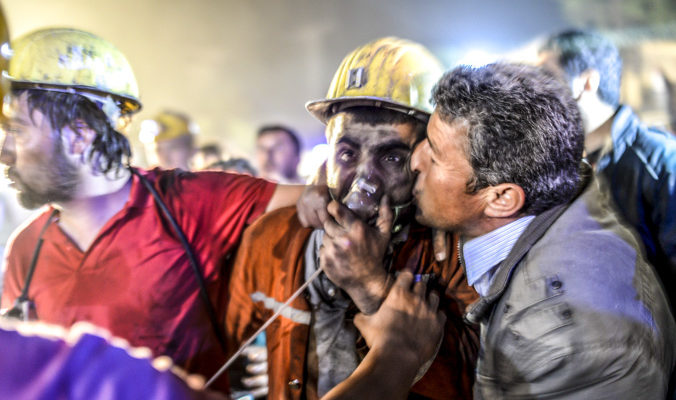 В момент аварии на шахте в Турции  вентиляция была неисправна