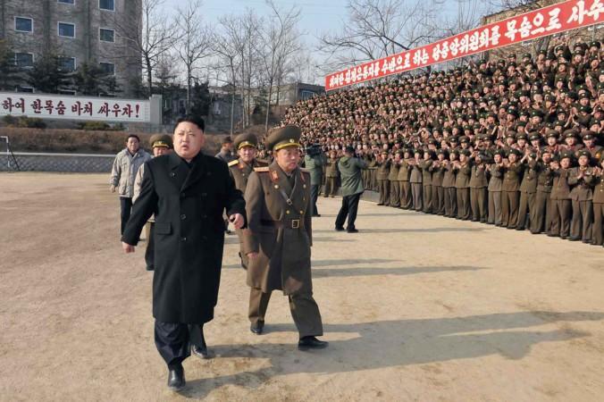 Северокорейский лидер Ким Чен Ын. Фото: KNS/AFP/Getty Images
