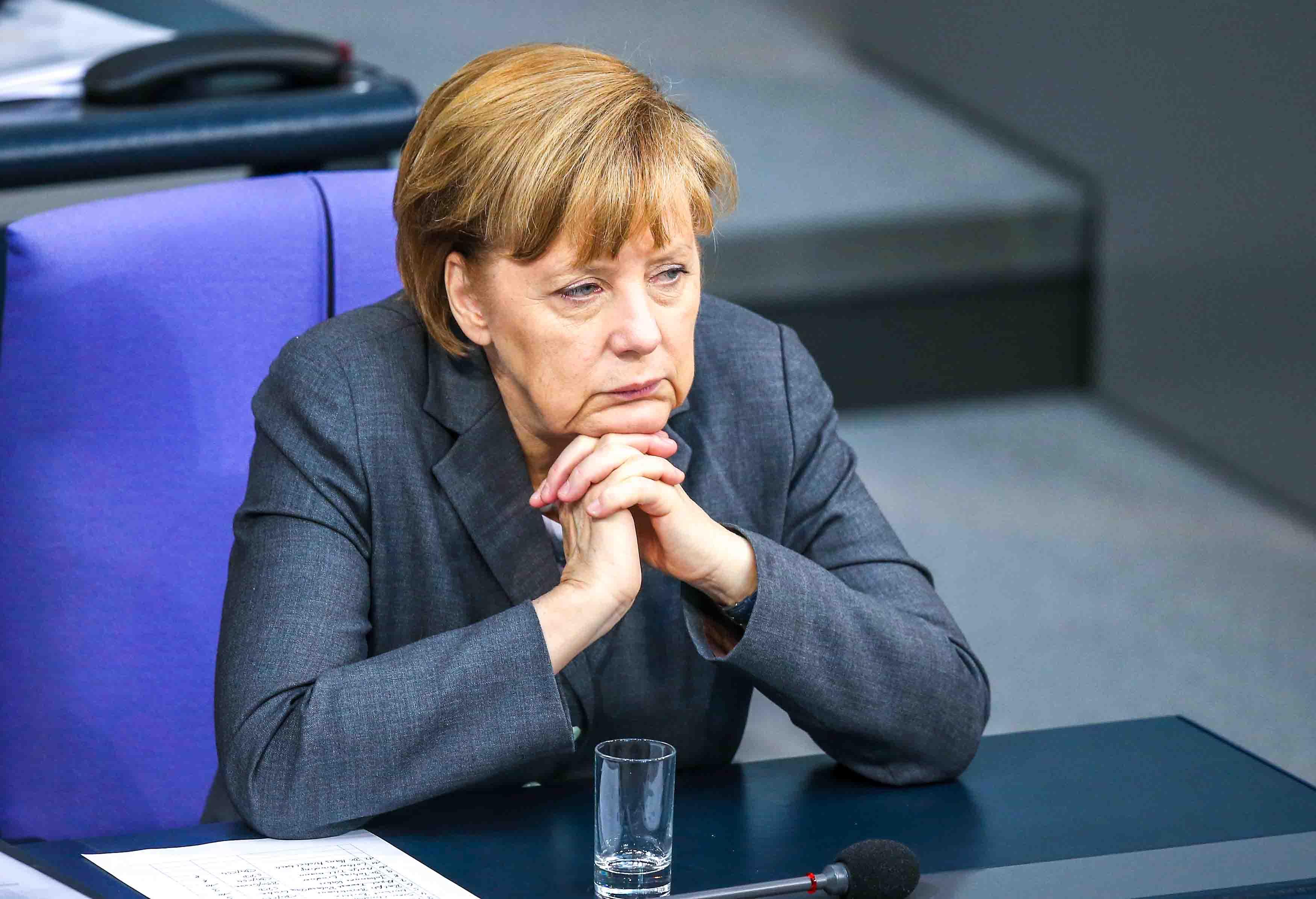 Канцлер ФРГ Ангела Меркель. Фото: Sean Gallup/Getty Images