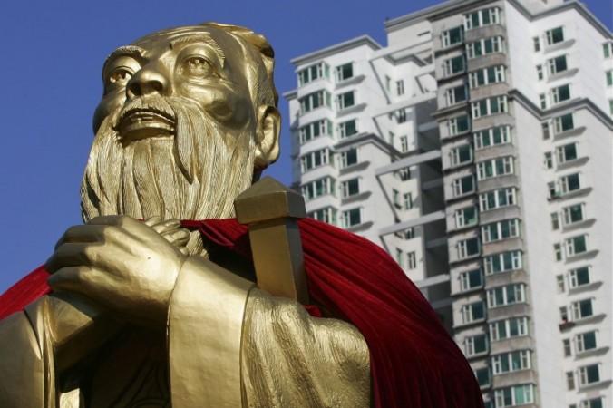 Статуя Конфуция в городе Чанчунь, Китай. Фото: China Photos/Getty Images