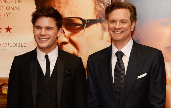 «Возмездие». Джереми Ирвин и Колин Фёрт на премьере фильма «Возмездие» в Лондоне, Англия. Фото: Dave J Hogan/Getty Images