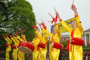 Международный день Фалунь Дафа отпраздновали в Москве