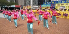 В Гонконге празднуют Всемирный День Фалунь Дафа