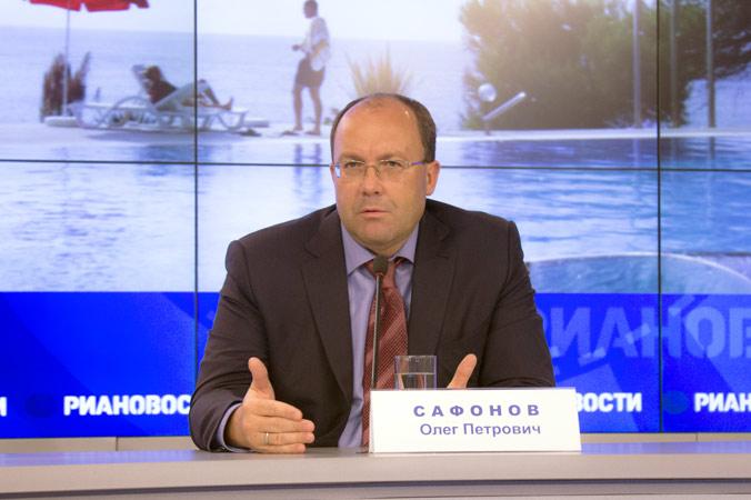 Руководитель Ростуризма Олег Сафонов.  Фото: Алексей Николаев/Великая Эпоха