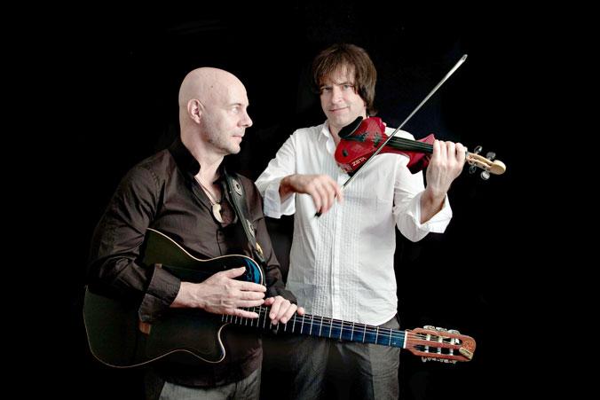 Неоклассический дуэт Two Siberians: Артём Якушенко и Юрий Матвеев. Фото предоставлено группой Two Siberians