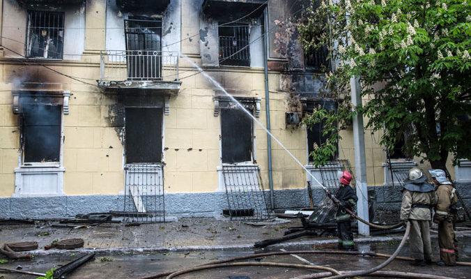 Во время празднования Хэллоуина во Владимире сгорел клуб «Моника Белуччи»