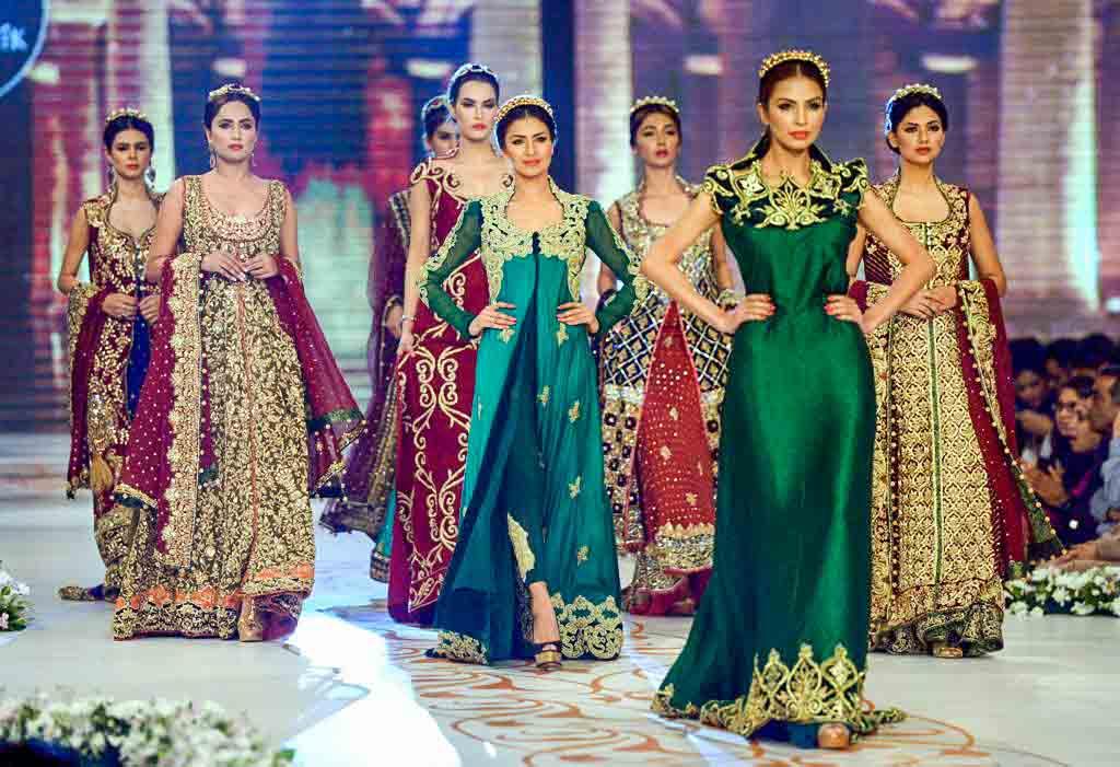 мода Пакистана 2014, пакистанская мода, показ моды, этническая мода 2014