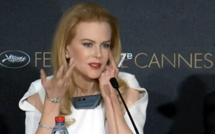 Николь Кидман. Скриншот видео