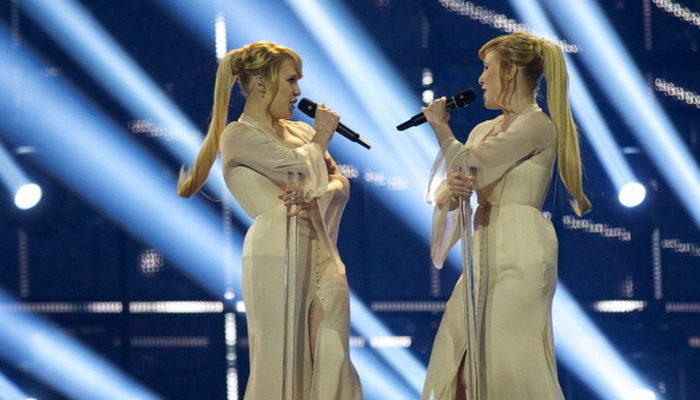 Сёстры Толмачёвы заняли 7-е место на «Евровидении-2014»