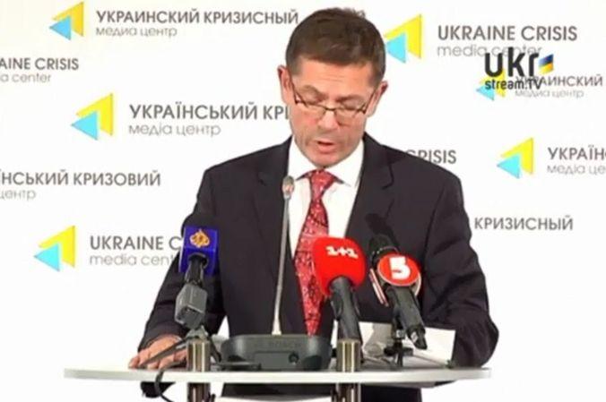 Иван Шимонович, помощник Генерального секретаря ООН по правам человека. Скриншот видео