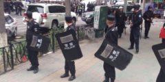 После взрывов в районах Синьцзяна введено военное положение