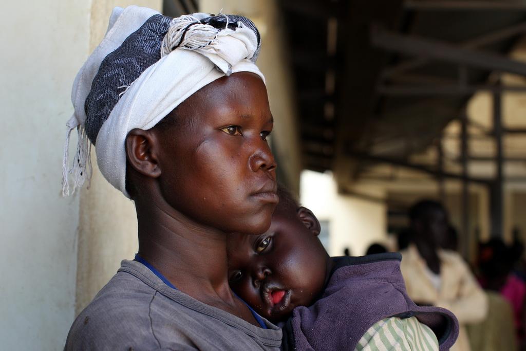 В некоторых африканских странах наихудшие условия для материнства. Фото: Paula Bronstein/Getty Images
