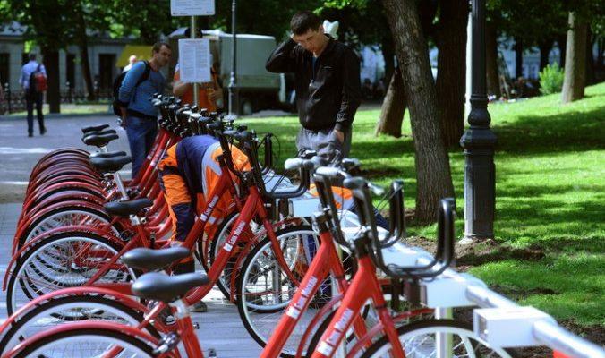 В центре столицы появится велосипедная сеть