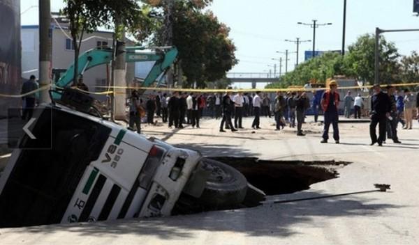 Последствия некачественного строительства в Китае. Фото с epochtimes.com