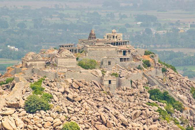 Индийские пейзажи с высоты птичьего полёта. Фото: Татьяна Виноградова/Великая Эпоха