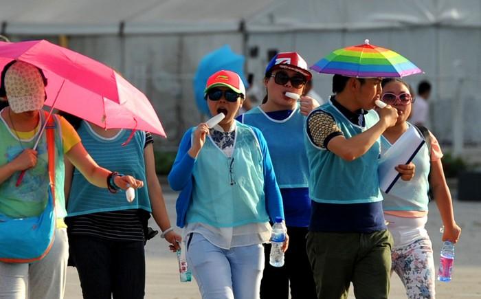 Аномальная жара в Китае. Май 2014 года. Фото с epochtimes.com