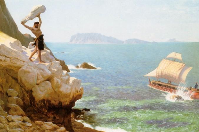 «Полифем», Жан-Леон Жером, (1824–1904). Фото: Art Renewal Center