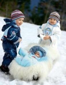 зимняя одежда для детей, Didriksons 1913, валенки куома