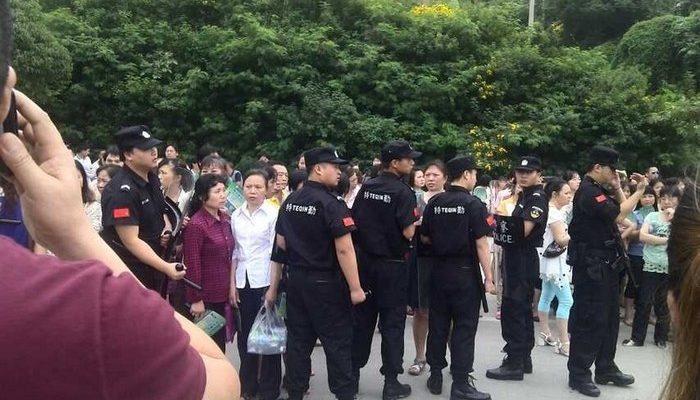 В Китае бастуют сотни рабочих завода компании Puma