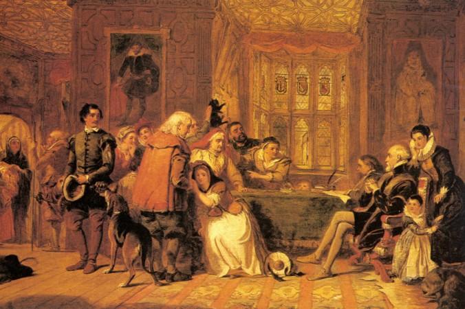 «Суд над ведьмой», 1888 г., Уильям Пауэл Фрайт (1819–1909). Фото: Art Renewal Center