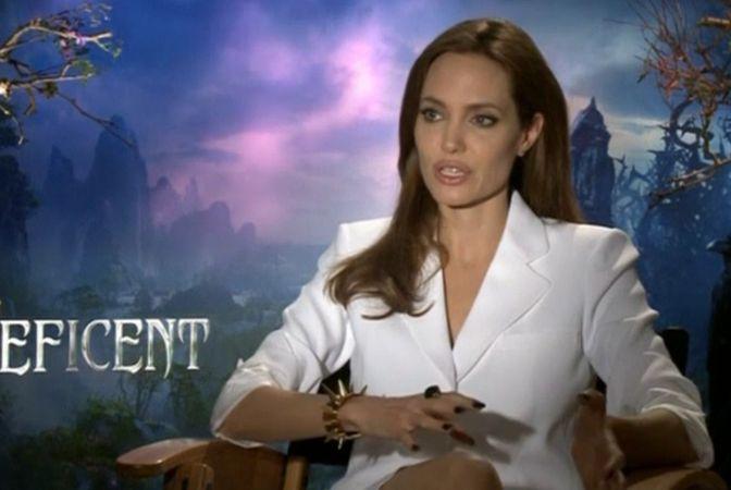 Анджелина Джоли, Малефисента, колдунья, Walt Disney, Спящая красавица