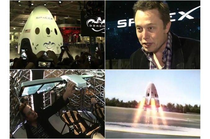Илон Маск, SpaceX, Tesla Motors, МКС, Dragon V2, миллиардер, NASA