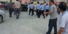 На юге Китая рабочие избили охранников стройки