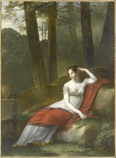 Портрет Жозефины в Мальмезоне, Поль-Пьер Прюдон, 1805—1809 гг.