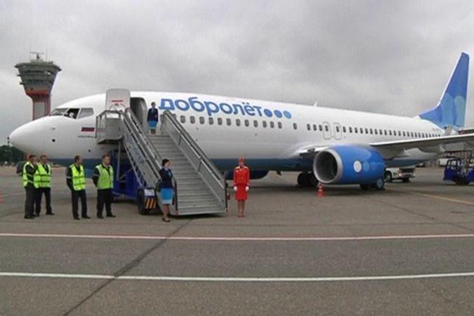 «Добролёт» отправил первый самолет из Москвы в Симферополь