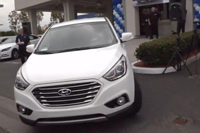Автомобиль Hyundai на водородном топливе дебютировал в США